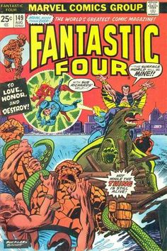 Fantastic Four # 149 by Rich Buckler & Joe Sinnott