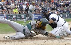 ALDS Game 2: Detroit downs Oakland after A's bobble chance to tie series. (AP)