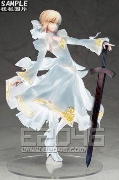 E2046.com - Saber Arturia Pendragon Dress Special Version (Pre-painted) (Fate Series , Gathering, PF10113) #gk #gkfigure #figure #robot #garagekit #garage_kit #anime #comic #manga #model #prepainted #ori #gathering #ANTIHERO #pvc #resin #game #toy