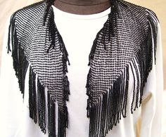Perfect on a plain top for a summer Great Gatsby party! Dressing in style for the Roaring 20's theme, in an authentic beaded shawl! $99.99 includes USA shipping!