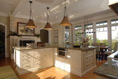 Eagle Point Road Residence 2 - traditional - kitchen - charleston - Solaris Inc.
