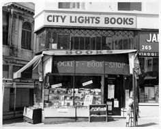 It was founded in 1953 by poet Lawrence Ferlinghetti and continues as an independent bookstore today. City Lights is located at 261 Columbus Avenue, on the nexus of North Beach and Chinatown in San Francisco. North Beach San Francisco, City Lights Bookstore, Lawrence Ferlinghetti, Haight Ashbury, Enemy Of The State, Dream Book, Meeting Place, San Fransisco, Shop Around
