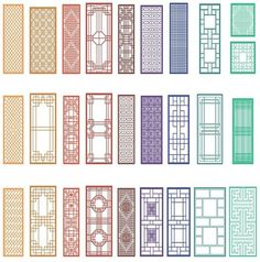 Chinese window patterns New Chinese, Chinese Style, Chinese Culture, Chinese Buildings, Chinese Architecture, Oriental Pattern, Oriental Design, Turandot Opera, Modern Chinese Interior