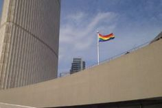 """Rainbow flag will fly at city hall throughout the Sochi Games after a request met protocol requirements, despite the mayor's opposition to """"politicizi. Toronto City, Toronto Star, Rob Ford, Human Rights Organizations, Human Rights Watch, Rainbow Flag, Olympics, Pride Flag, Printers"""