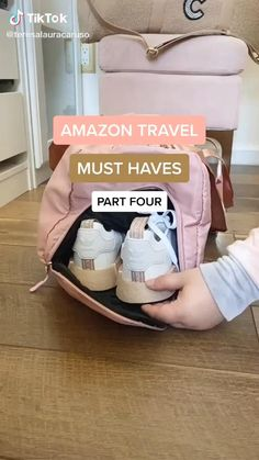 Best Amazon Buys, Best Amazon Products, Travel Bag Essentials, Packing Tips For Travel, Travel Hacks, Amazon Essentials, Road Trip Packing, Suitcase Packing, Travel Guide