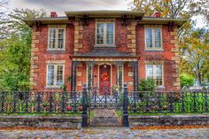 Port Colborne Ontario ~ Canada ~ Ingleside ~ 1867 ~ Heritage House Canada is a North American country extending from��_