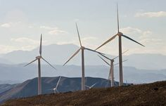 Manjil Wind Power Plant , Iran , Gilan , Manjil