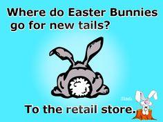 Corny but funny Easter Bunny Jokes, Funny Easter Jokes, Easter Puns, Funny Jokes For Kids, Funny Bunnies, Funny Puns, Funny Quotes, Easter Sayings, Funny Stuff