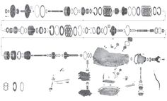 4l80e blow up diagram 4l80e parts blow-up / diagram | keith kraft | pinterest ... #5
