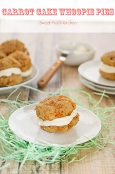 carrot cake whoopie pies {Sweet Pea's KItchen}