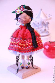 Коллекционные куклы ручной работы. Ярмарка Мастеров - ручная работа. Купить Лима. Handmade. Кукла ручной работы, Вязание крючком
