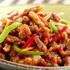 Slimming World Crispy Shredded Chicken Made this loads of times!! It's deeeeeelicious!! :)