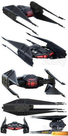 Star Wars Film, Star Wars Pc, Star Wars Guns, Star Wars Kylo Ren, Star Wars Ships, Images Star Wars, Star Wars Pictures, Armadura Darth Vader, Spaceship Design
