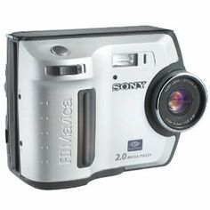#Click onto photo TWICE for more technical detail# Sony MVCFD200 FD Mavica 2MP Digital Still Camera w/ 3x Optical ZoomPrice:$999.99....Sale:$499.95 #Sony_cameras #sony_digital_cameras #