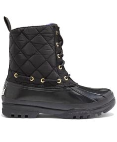 Sperry Top-Sider Women's Gosling Quilted Rain Boots winter boot