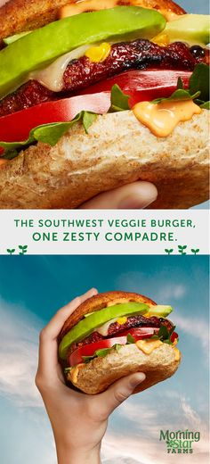 Try this grilled Southwest Spicy Black Bean Veggie Burger at your next backyard BBQ. Your taste buds will thank you.