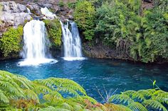Ojos del carbuga(Pucon,Chile) Rode a bike here in Gorgeous. Places To Travel, Places To See, Beautiful Waterfalls, We Are The World, Beautiful Places In The World, Central America, South America, Lake District, Dream Vacations