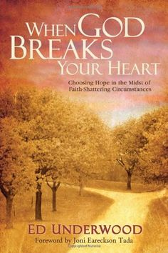 "This book helped me work through a lot of the anger I was feeling after my miscarriage.  ""When God Breaks Your Heart: Choosing Hope in the Midst of Faith-Shattering Circumstances"" by Ed Underwood"