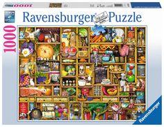 Kurioses Küchenregal | Erwachsenenpuzzle | Puzzles | Shop | Kurioses Küchenregal