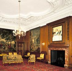 The Evening Drawing Room,  Palace of Holyroodhouse, Scotland. photographer: John FreemanThe Royal Collection © 2009 Her Majesty Queen Elizabeth II