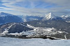 Tyrolean Alps view, Seefeld, Austria. http://skabrat.com/2013/01/winter-weekend-in-austria/