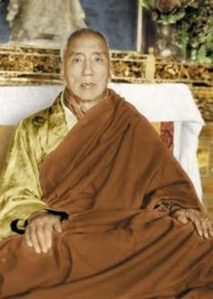 """The Universal Medicine for Healing All Ills, by Jamyang Khyentse Chökyi Lodrö. """"When you are ill, be ill within the dharmata nature. Within the nature of things, there is no illness. Sickness, without reference—let it be released into all-pervading space. Sickness is an embellishment of dharmata's display, And the play of intrinsic reality is unceasing. All that appears to us is sickness, All sickness is by nature wisdom. Within this wisdom, settle undistractedly..."""""""