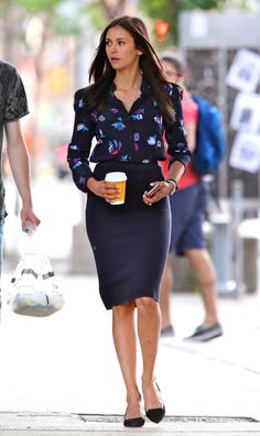 Nina Dobrev at the On the set of 'Flatliners', Toronto (23 August, 2016)