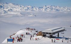 Baqueira-Beret, Spain With a whopping 325cm of packed pow on upper slopes and another 34cm of snow forecast for later this week, Baqueira-Be...