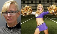 Ex-NFL cheerleader charged with sex with 15-year-old boy