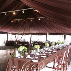 Wedding tent draping and lighting Toronto