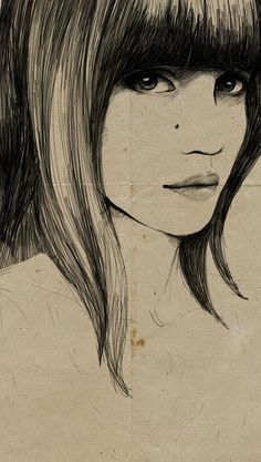 Sandra Suy Fashion Illustration #draw #painting #illustration