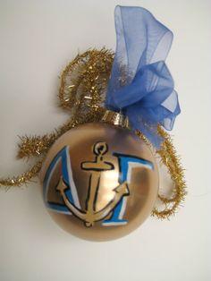 delta gamma ornament: I think I could make this?? :)
