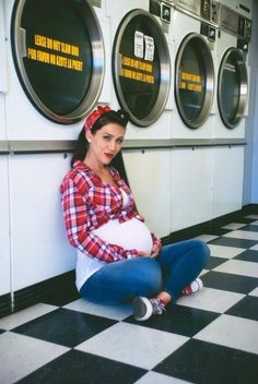 My pin up maternity shoot