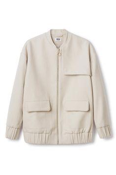 Weekday | New Arrivals | Gold bomber jacket
