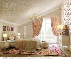Элементы декора спальни в загородном доме Дизайн интерьера квартир, перепланировка, фото интерьеров Дизайн-студия Ольги Кондрато