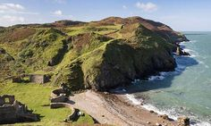 Porth Llanlleiana Bay, Anglesey. One of the Top 10 'secret' beaches in Wales