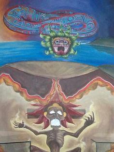 Murales MUSEO COMUNITARIO DE XICO EDO. MEX.