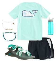"""Untitled #3"" by emma20avery on Polyvore featuring NIKE, Chaco, Vineyard Vines, Pura Vida and CamelBak"