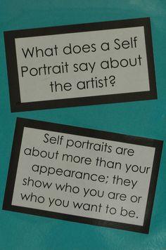 Adventures of an Art Teacher: Self Portrait Bulletin Board High School Art, Middle School Art, Classroom Posters, Art Classroom, Self Portrait Art, Portrait Ideas, Art Bulletin Boards, Classe D'art, Art Room Posters