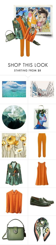 """""""Geen titel #35007"""" by lizmuller ❤ liked on Polyvore featuring Safavieh, Acne Studios, CO, Victoria Beckham, Alberta Ferretti, Avon, STELLA McCARTNEY, Bass Weejuns, Coach and Dsquared2"""