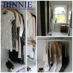 Walk in wardrobe overview. Maximise your space and display your clothing in style. Walk In Wardrobe, Wardrobe Rack, Your Space, Display, Clothing, Projects, Furniture, Home Decor, Style