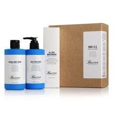Skin Kit (Face Wash, Herbal Mint Toner, Oil Free Moisturizer) - Baxter of California D & Rach Facial For Dry Skin, Baxter Of California, Home Remedies For Skin, Face Wash, Face And Body, Skin Care Tips, Herbalism, Moisturizer, Kit
