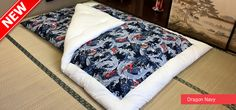 Kakebuton (Quilt) Important: To truly understand why our Traditional Japanese Futon are better than anything else available on the market, we highly recommend Japanese Futon Mattress, Quilts, Quilt Sets, Log Cabin Quilts, Quilting, Quilt, Afghans