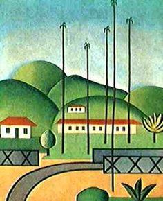 Obras de Tarcila do Amaral (Palmeiras)