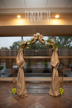 Burlap Arbor - Wedding Planning & Design by White Dress Events
