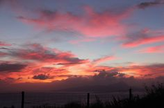 Truly You Life Coaching - My Passion Filled Life! Brilliant sunsets! over the #Mediterranean