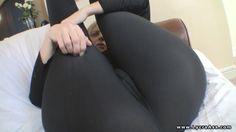 sexy lycra camel toe #ass #cameltoe #spandex