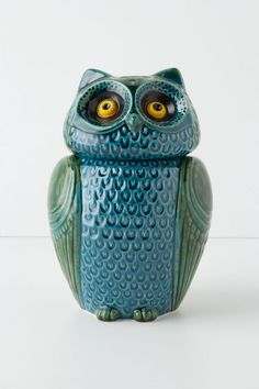 Wise Ol' Canister - anthropologie.com