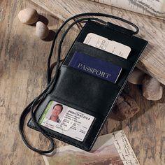 Airport escort passport holder