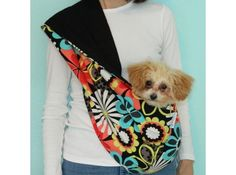 Designer Hands-Free Pet Slings for Dog Owners on sale in many styles @Coupaw